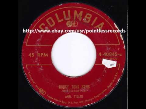 MEL TILLIS Honky Tonk Song - 1950s Country Bopper