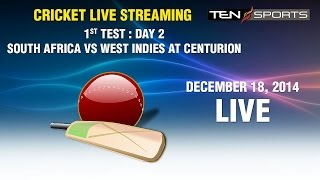 vuclip CRICKET LIVE STREAMING: 1st Test - South Africa v/s West Indies Day 1, Centurion