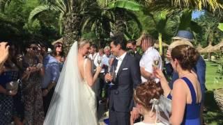 Ведущий на свадьбу за границей.  Ведущий на свадьбу в Португалии Евгения Кор