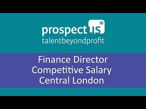 Prospectus Finance Director vacancy