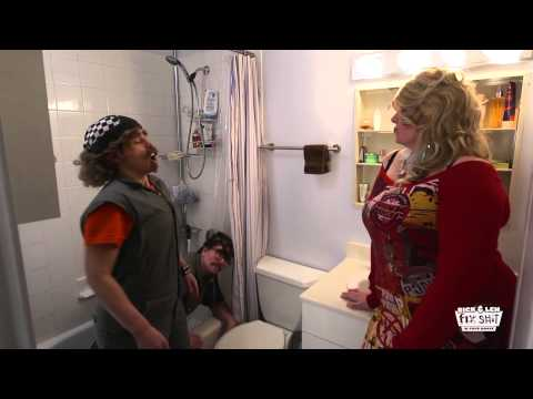 Rick and Len Fix $h!t In Your House  Episode 6  Toilet Ceiling