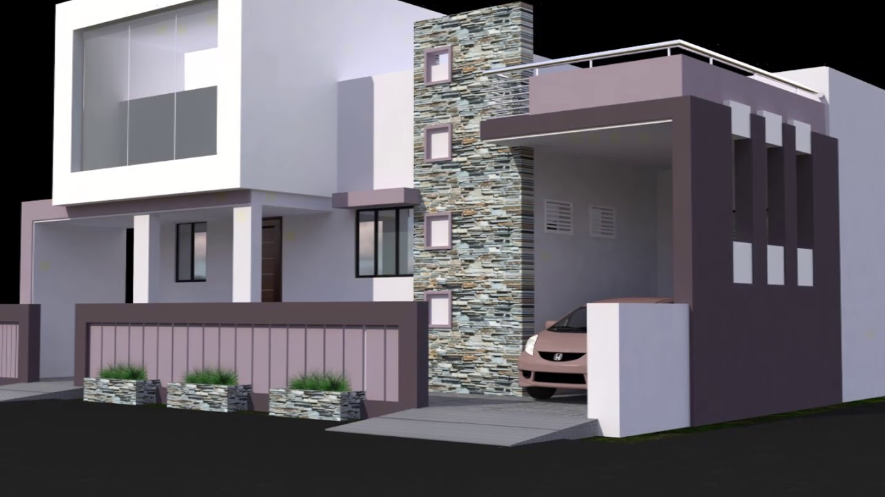modern home design concepts - YouTube