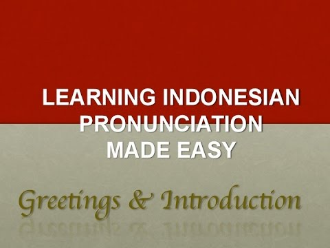 Indonesian language for beginners greetings introducing your indonesian language for beginners greetings introducing your self m4hsunfo