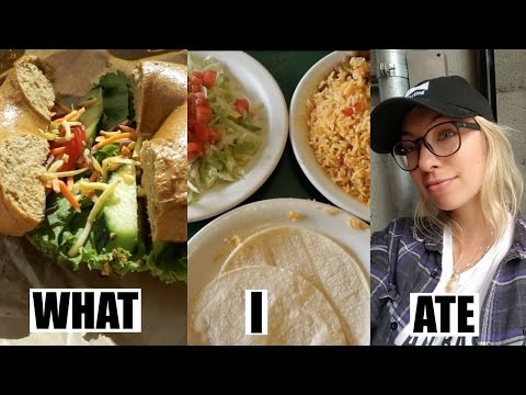 ♡WHAT I ATE TODAY as a VEGAN while TRAVELING♡ [#20]