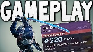 Destiny - NEW SWORD GAMEPLAY !!