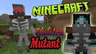 Мутировавший Скелет! Обзор Модов Minecraft!(Mutant Creatures) №74
