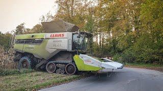 NEW LEXION 2019 | Corn Harvest Germany | Claas Lexion 8800 TT | LU Heidebrecht | HD
