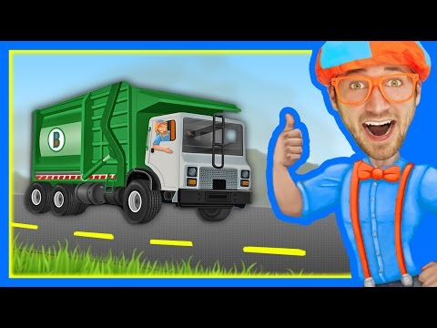 Thumbnail: The Garbage Truck Song by Blippi | Songs for Kids