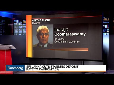 Sri Lanka Central Bank Governor Discusses Latest Rate Cut