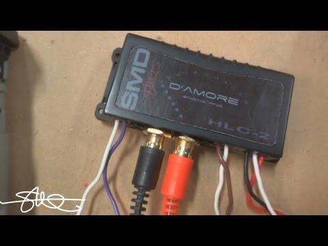 line output converter installation