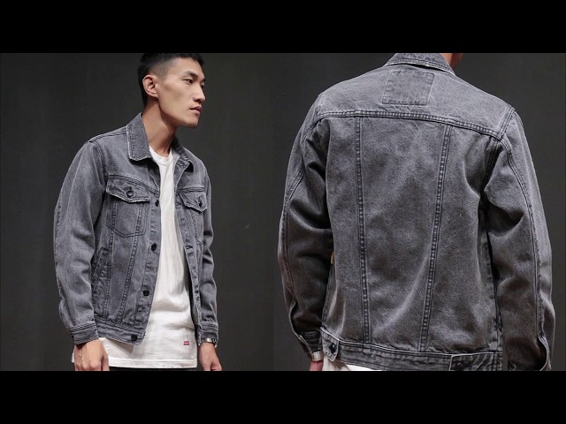 24d82a1fd25e0 7 Мужская Джинсовая Куртка с Алиэкспресс AliExpress Denim Jackets for Men  Крутая вещи для мужчин