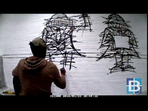 Time lapse: Mural painting at our Cheapside offices