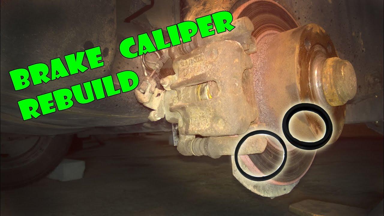 Brake Caliper Rebuild  U2666 Audi  Vw  Skoda  Seat  U2666
