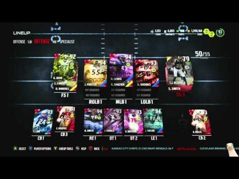 Madden 16 Ultimate Team :: We Snagged Legend 94 Ronde Barber! ::-XBOX ONE Madden 16 Ultimate Team