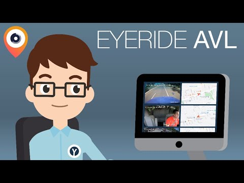 EYERIDE AVL - Automatic Vehicle Location - Real Time GPS for your Customers!