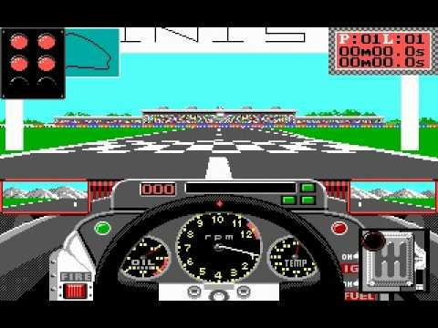 Grand Prix Circuit - Accolade - [MS-DOS]