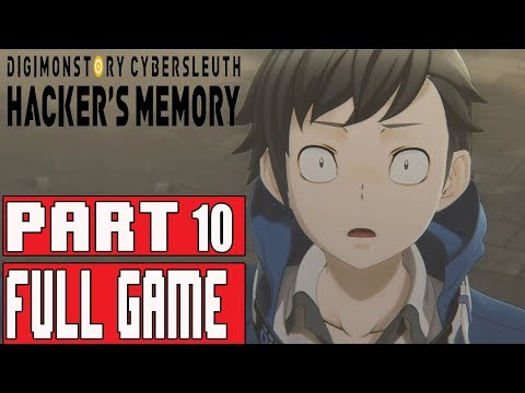 DIGIMON STORY CYBER SLEUTH HACKER'S MEMORY Walkthrough Part 10 No Commentary (English)