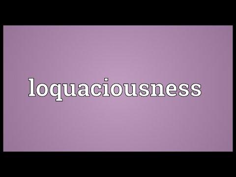 Header of loquaciousness