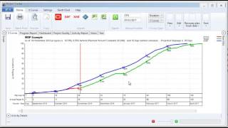 S Curves From Microsoft Project Youtube