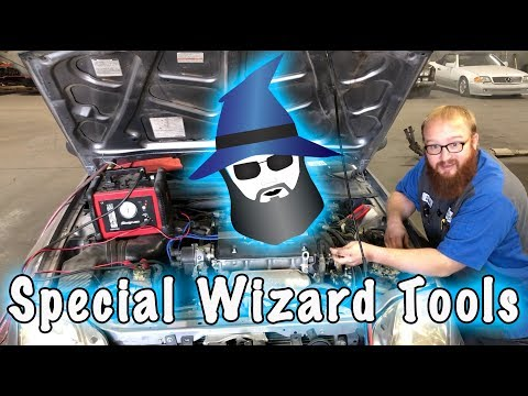 The CAR WIZARD and his Wizardry Tools!