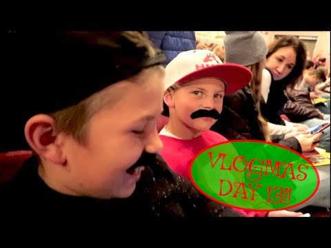 We're Going To A Play!! VLOGMAS DAY 13!!