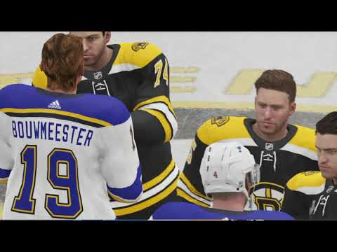 NHL 20 Boston Bruins Stanley Cup Winning Animation