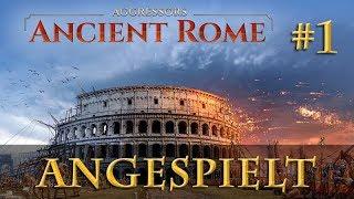 Angespielt Aggressors: Ancient Rome #1: Der Pyrrhische Krieg  (Let's Play / Pre-Release / Tutorial)