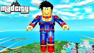 I've been a MAD CITY SUPER HEROS! Roblox