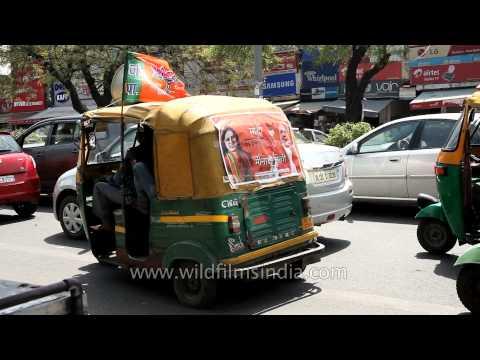 Autos to power - Namo's/Modi campaign in Delhi