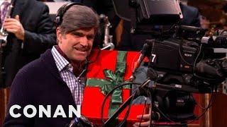 Conan Has Creepy, Gift-Giving Cameramen - CONAN on TBS