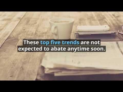 Top 5 Procurement Trends in 2018