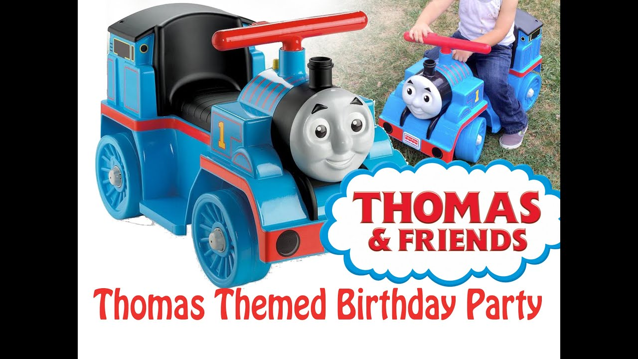 Birthday With Thomas The Train Friends