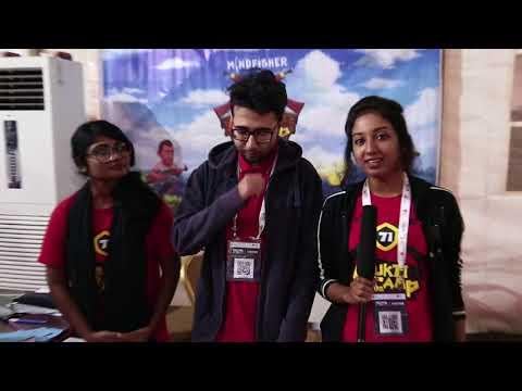 Mukti Camp . New Android Games related to Bangladesh Liberation War at Digital World 2017
