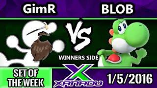 S@X 131 - Blob (Yoshi) Vs. VGBC | GimR (G&W) SSB4 Tournament - Smash Wii U - Smash 4
