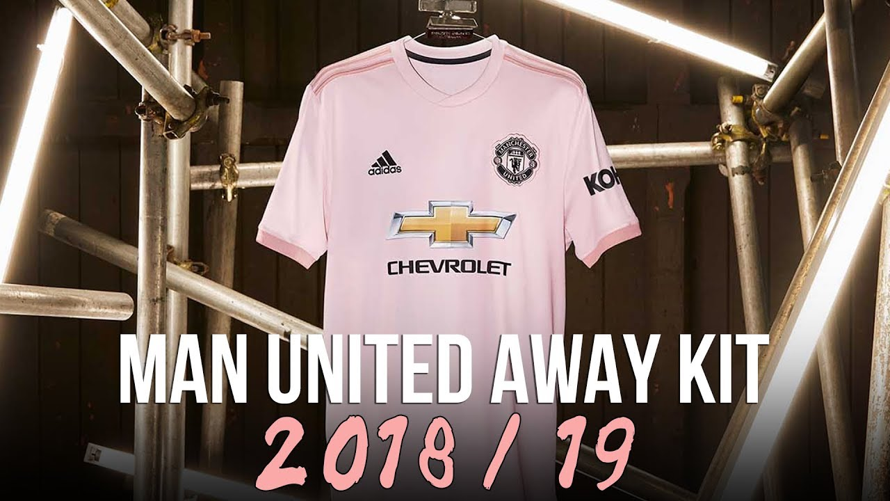new product 6448a cd3d4 Manchester United 2018/19 ADIDAS AWAY KIT | A Pink Shirt?