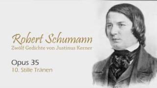 Play 12 Gedichte, Op. 35 Stille Tränen