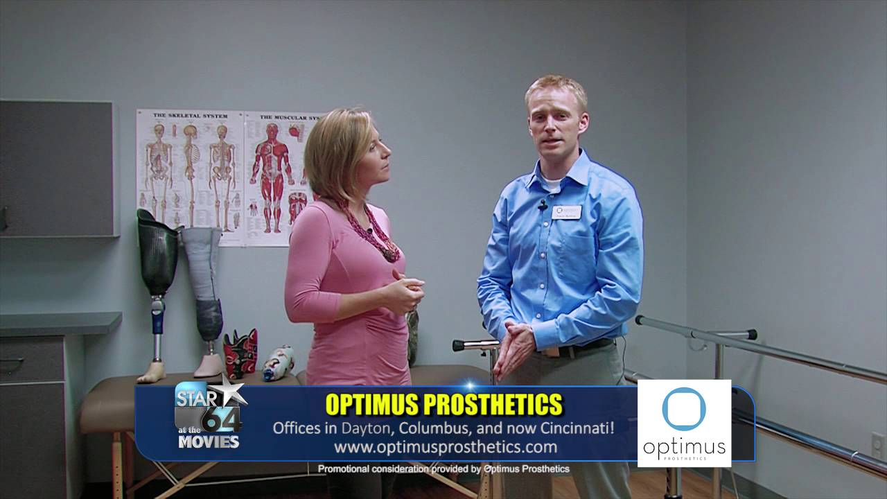 Travis Barlow of Optimus Prosthetics interviewed on Star 64 at the movies