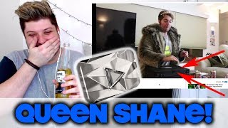 DESTROYING MY DIAMOND PLAY BUTTON! - Shane Dawson | REACTION!