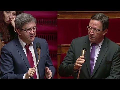 Opposition Mélenchon / Gomès sur l'accord entre l'Union européenne et le Kazakhstan - 18-12-2017