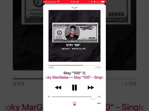 "Stay ""100"" - Smooky MarGielaa"