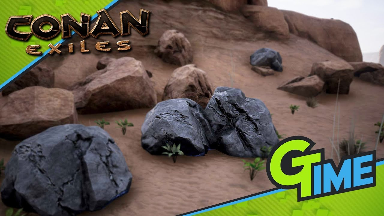 Conan Exiles Eisen Finden