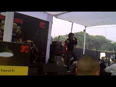 MTV Roadies--8 Theme Song Live from Delhi Audition 14th Nov 2010