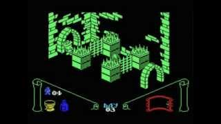 Knight Lore walkthrough...Finally you'll see the end of this classi...