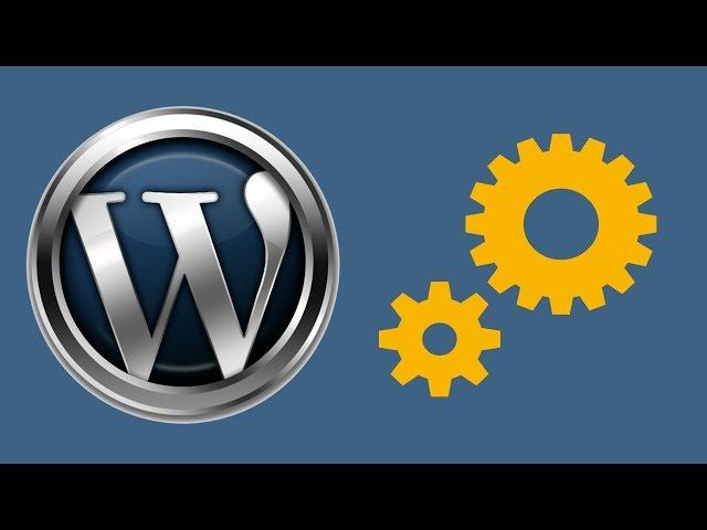 Красивая страница сайт в разработке на WordPress