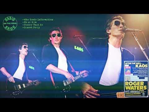 Roger Waters - Wembley (1987-11-21) FM Broadcast