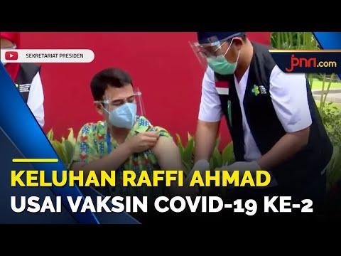 Yang Dirasakan Raffi Ahmad Usai Menerima Dosis ke-2 Vaksin Covid-19