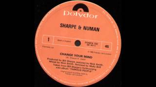 Watch Sharpe  Numan Change Your Mind video