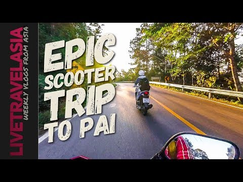 How to get to Pai on a Scooter from Chiangmai via Highway/Route 107 and 1095