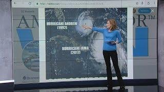 Hurricane Irma viel größer als Andrew: Angst vor dem, was noch kommt