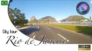 Passeio de carro no Rio de Janeiro. City tour in Rio - Music by JCKC and Tunguska EMS